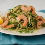Prawn with Courgette Pasta